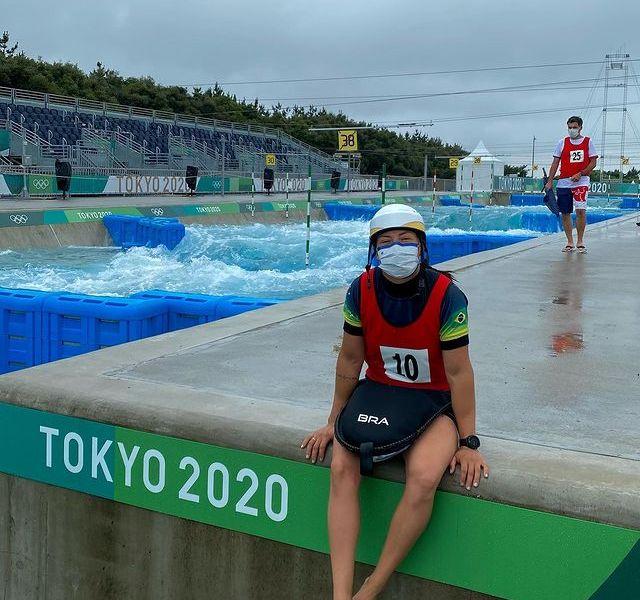 Atleta Canoagem Slalom Ana Sátila