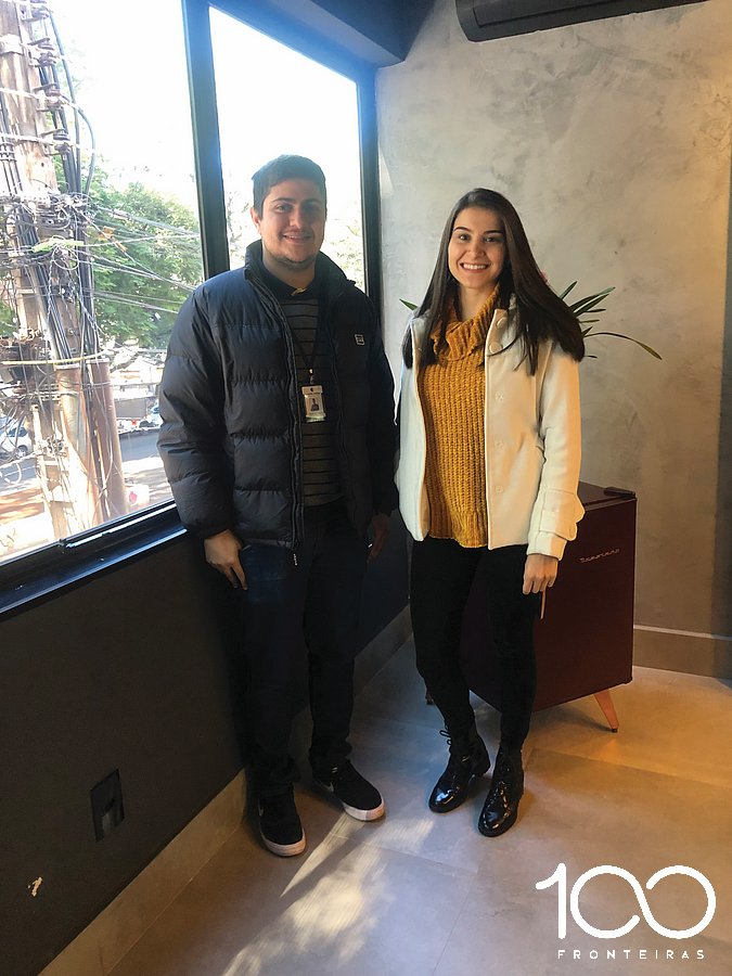 Empresários Fauzi Marraui e Imaan Tarbine