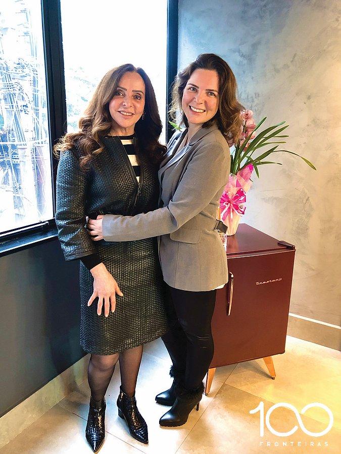 Neiva e a filha Manuela, proprietárias da Clínica Balestra