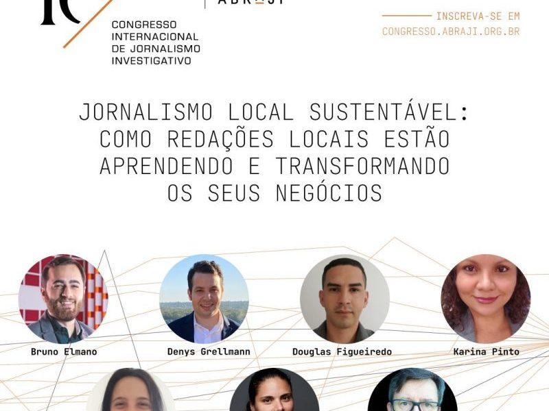Abraji - congresso de jornalismo