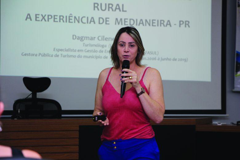 Dagmar Cilene Pedrozo. Presidente Adetur
