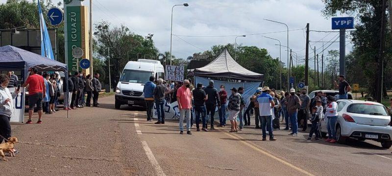 Manifestação Puerto Iguazú