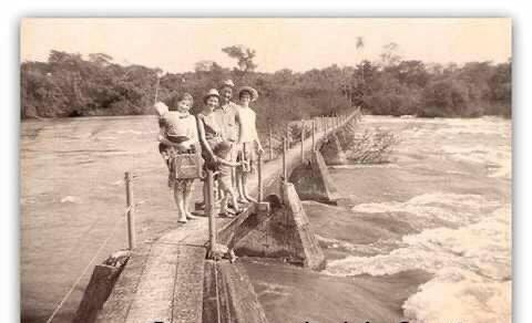 Fotos antigas Cataratas do Iguaçu