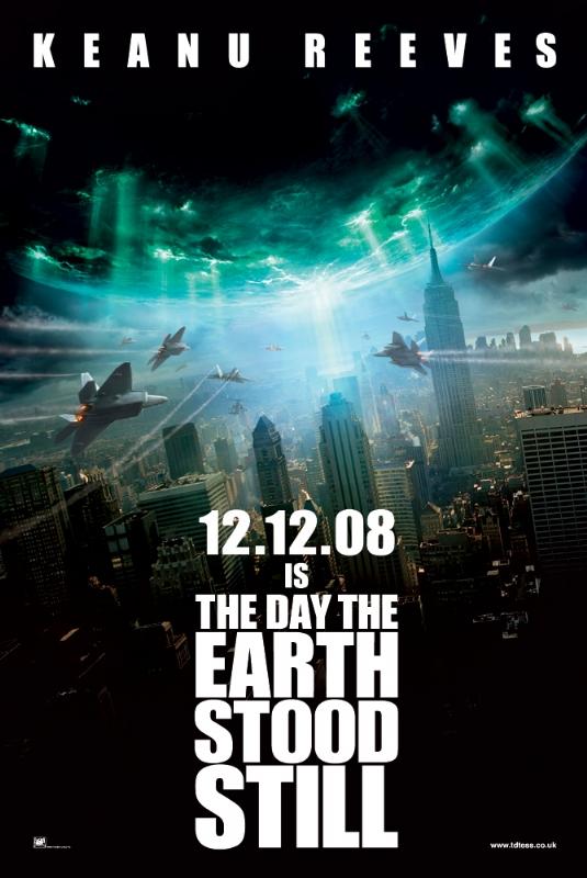 Poster do filme O Dia em que a Terra Parou