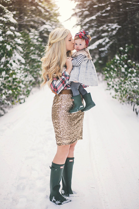 Outdoor Family Christmas Clothing Ideas