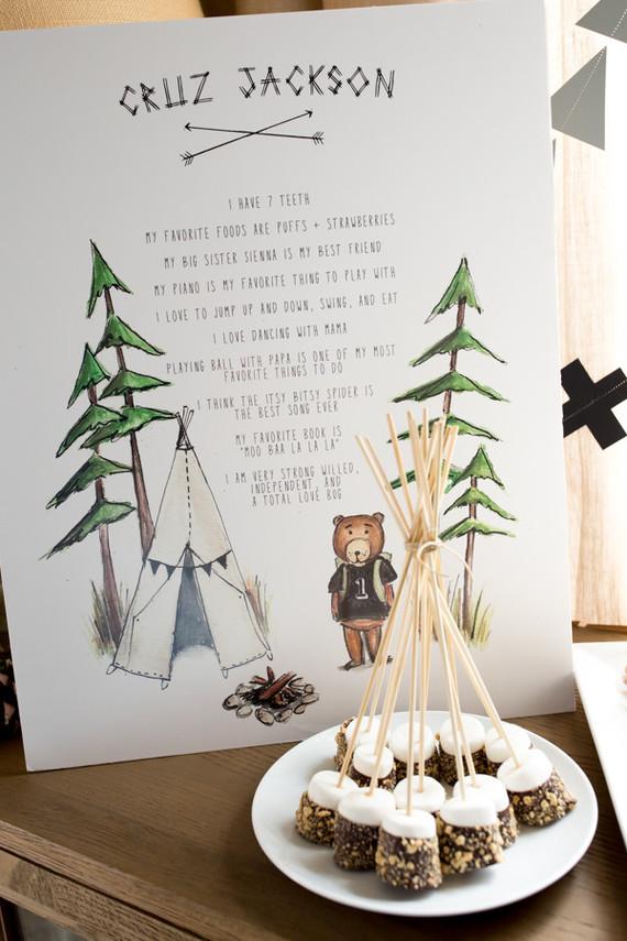Camp Cruz 1st Birthday 100 Layer Cakelet Bloglovin