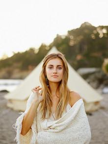 Praia nupcial retrato