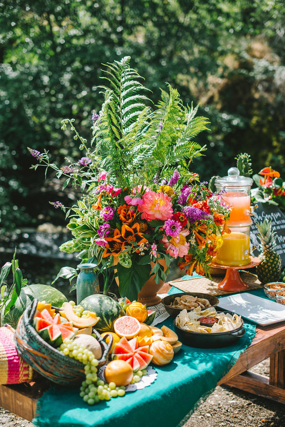 Spanish Styled Food Display Wedding Amp Party Ideas 100