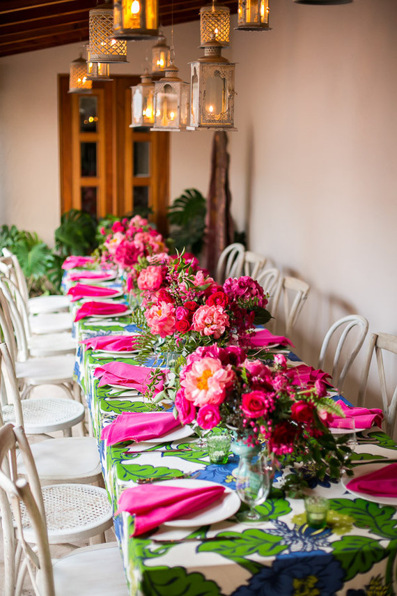 Hot Pink Floral Arrangements Wedding Amp Party Ideas 100