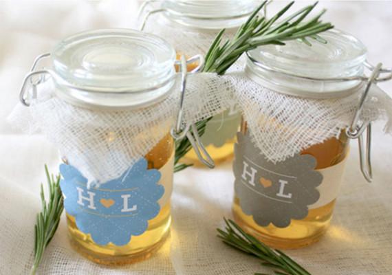 Honey Jar Favors DIY Projects 100 Layer Cake