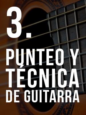 3. Curso de Punteo y Agilidad en Guitarra