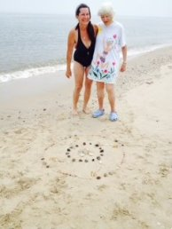 Laura DuBois Mullins, Fairfax, Virginia pictured here with her Aunt Patou McIsaac
