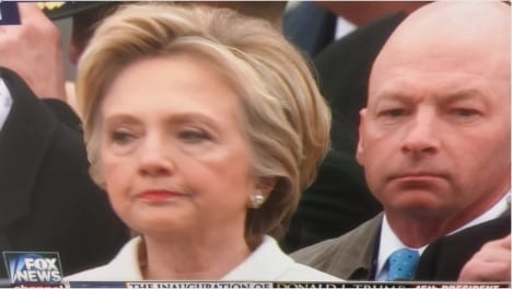 Hillary inauguration lock her up