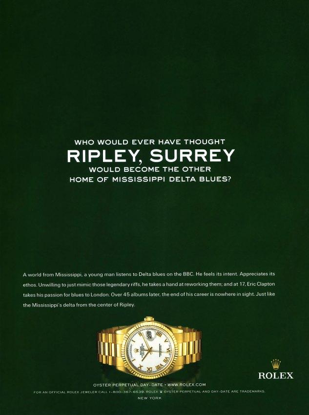 Eric-Calpton-Rolex-AdRipleySurrey