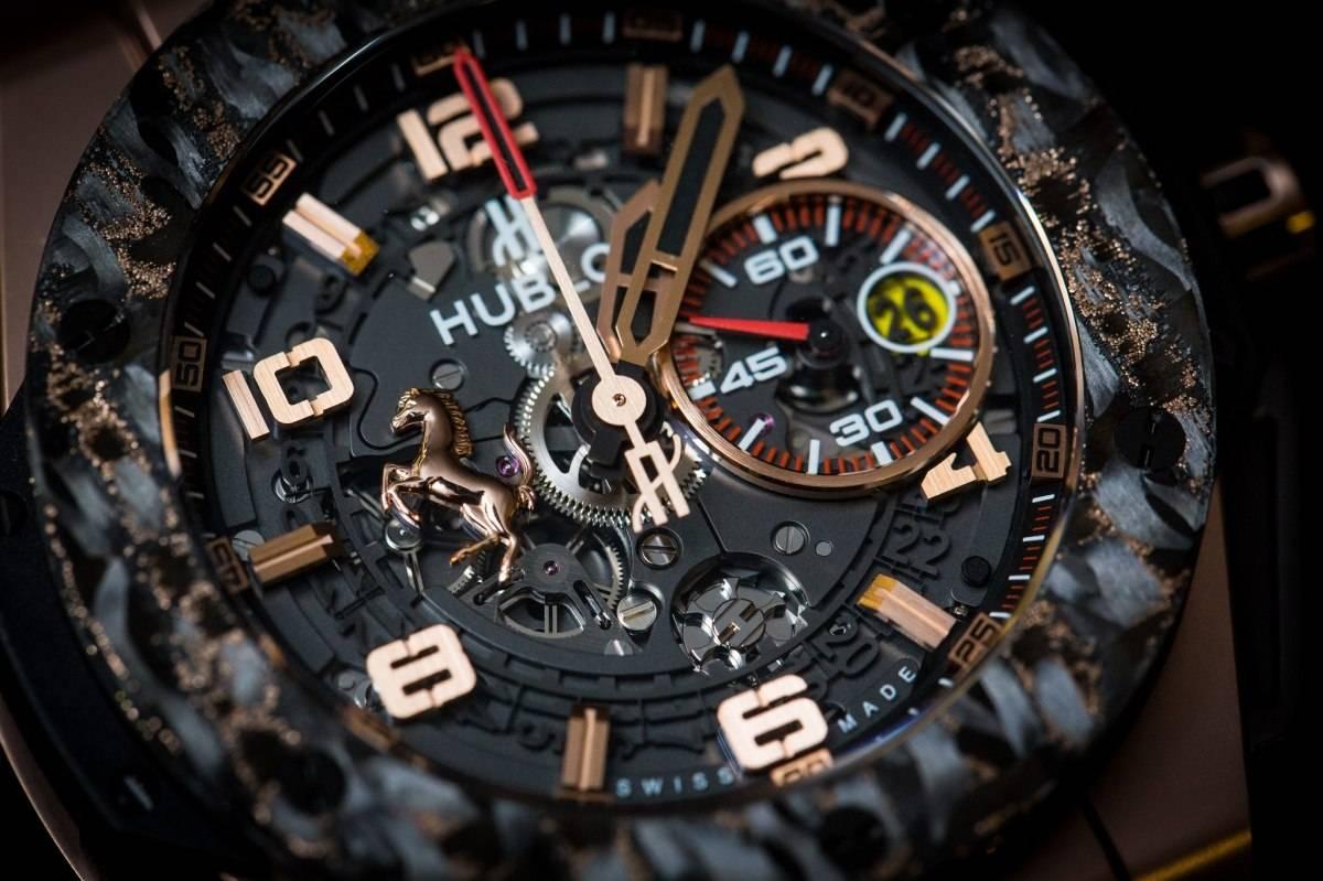 Hublot-Big-Bang-Ferrari-Carbon-Watch-Baselworld-2015-gold