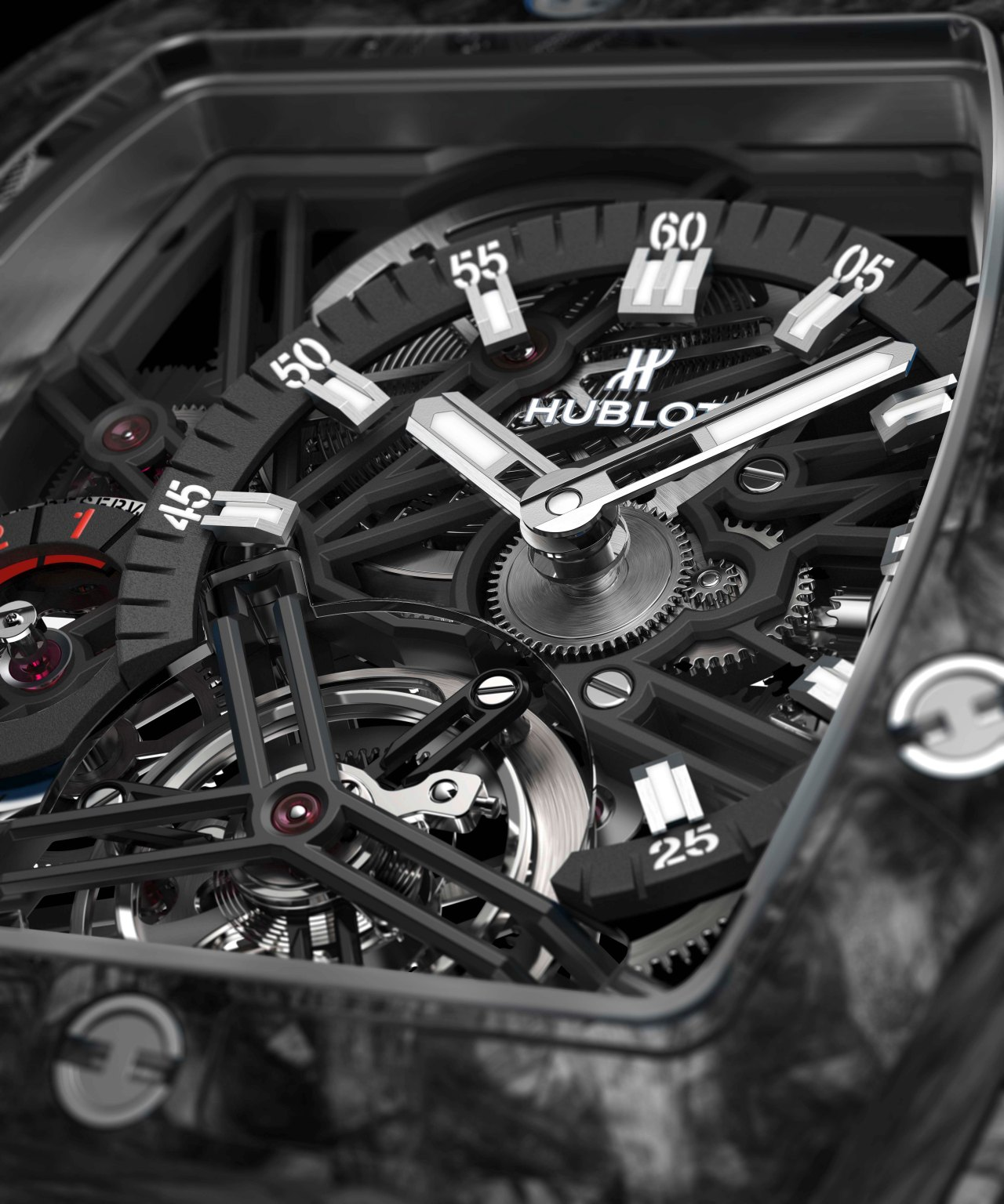 Hublot Spirit of Big Bang Tourbillon Carbon Black 645.QN.1117.RX-CU-HR-B-1