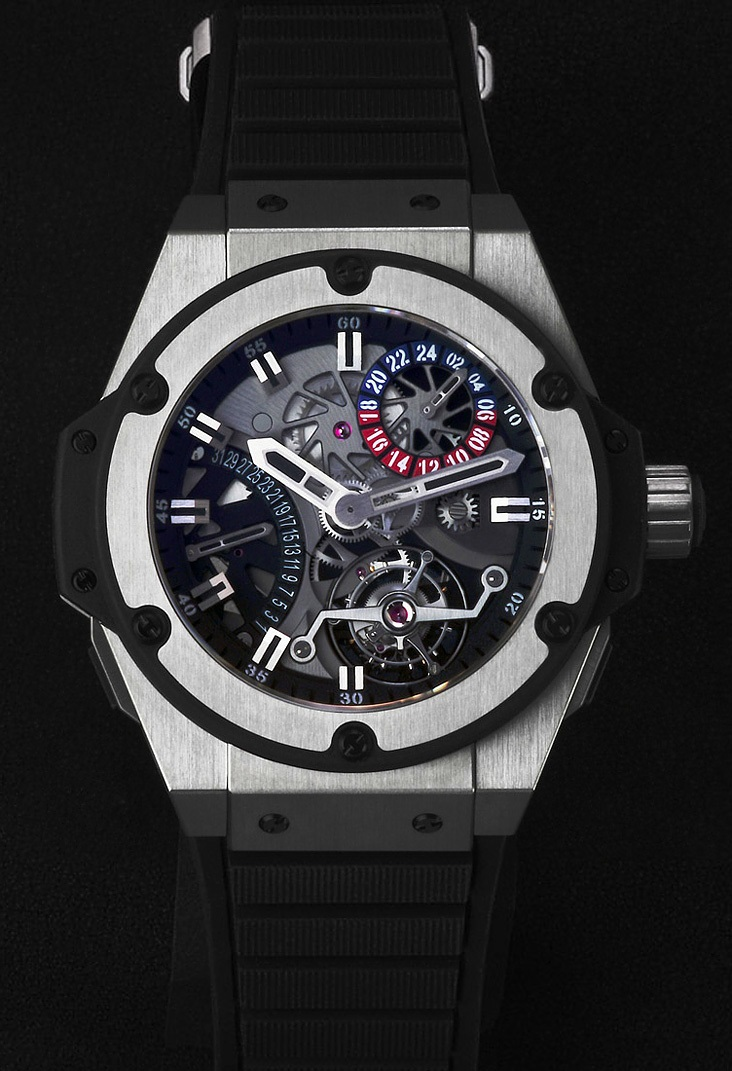 Hublot Zirconium King Power Tourbillon GMT