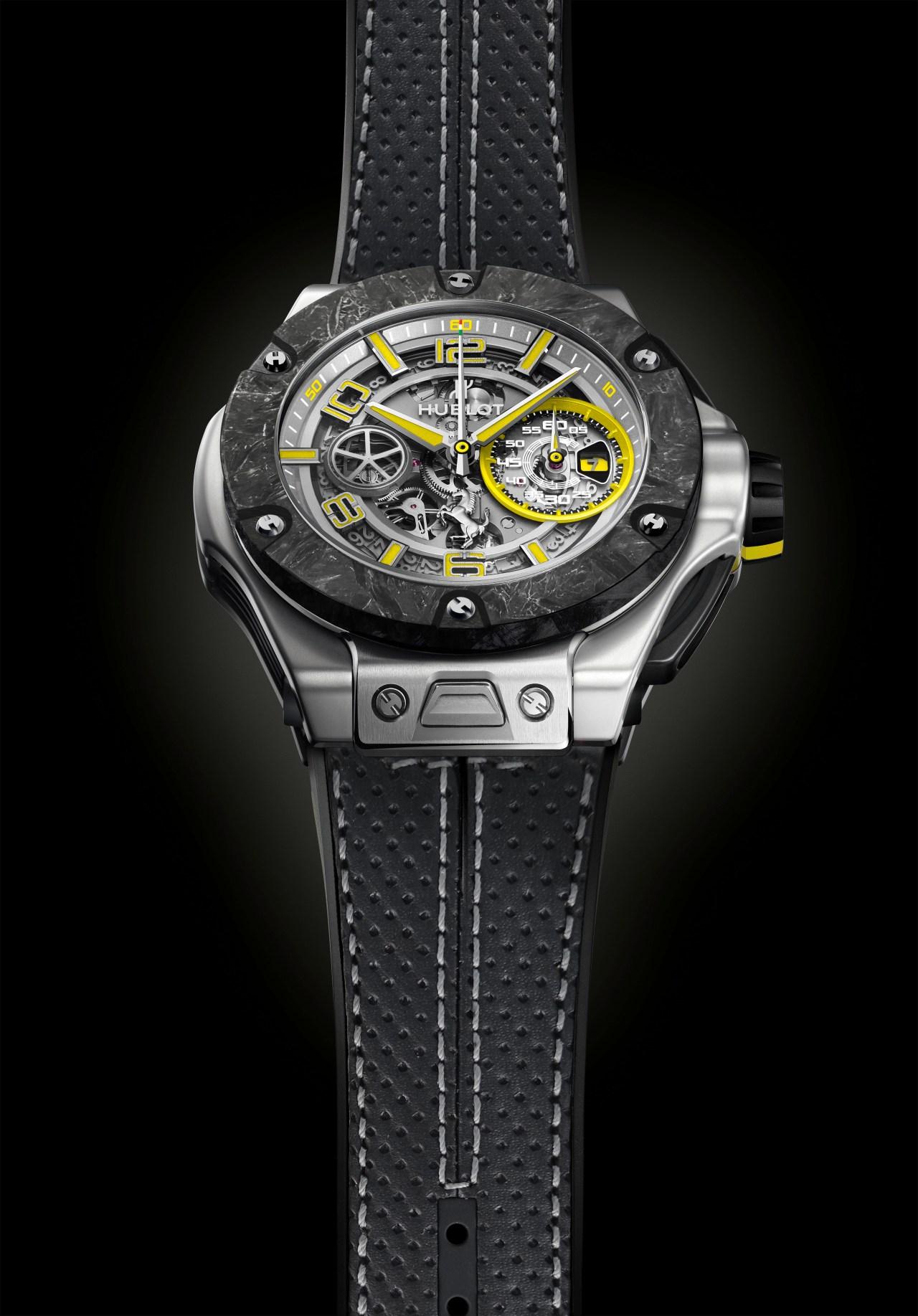 Hublot Big Bang Scuderia Ferrari 90th Anniversary Platinum 402.TQ.0129.VR-PB-HR-B