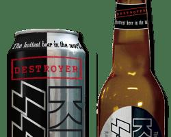 KISS DESTROYER BEER HITS AUSTRALIA