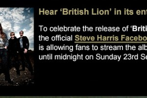 Hear Steve Harris's solo album British Lion in its entirety!