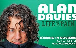 Comedy:  Alan Davies live in Perth, 2nd December 2011