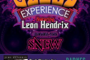Leon Hendrix touring with SNEW for Jimi's 70th birthday