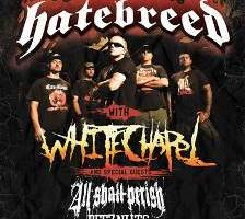 """HATEBREED Finish Tracking New Album and Embark on """"10 Years of Perseverance"""" Tour"""