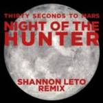 "THIRTY SECONDS TO MARS TO RELEASE ""NIGHT OF THE HUNTER (SHANNON LETO REMIX)"" ON SEPT. 18TH"