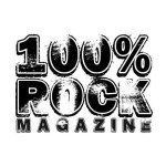 100% ROCK MAGAZINE is ONE MONTH OLD!!