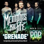 "Memphis May Fire's cover of Bruno Mars'  ""Grenade"" is now available on iTunes!"