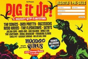 Live – Hoodoo Gurus presents The Dig It Up Invitational, Perth WA, 28 April 2012