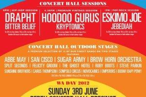 Live – State of the Art, A Celebration of Western Australian Music, Perth WA, 3 June 2012