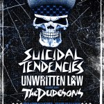 KILLROCKSTAR ANNOUNCE SUICIDAL TENDENCIES, UNWRITTEN LAW & THE DUDESONS AUSTRALIAN TOUR 2012!