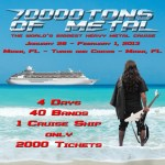 ANGRA's First Show With A New Singer On Board 70000TONS OF METAL!