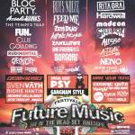 Future Entertainment, Mellen Events, Nova, Channel [V], SPA, inthemix, The Wire & Faster Louder Present The Future Music Festival 2013
