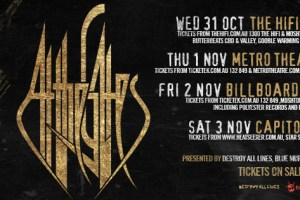 AT THE GATES lay waste to Perth Saturday –>