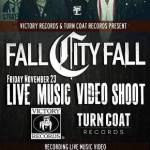 FALL CITY FALL INVITE FANS TO PARTICPATE IN LIVE MUSIC VIDEO SHOOT