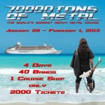 TÝR Announced For 70000TONS OF METAL 2013