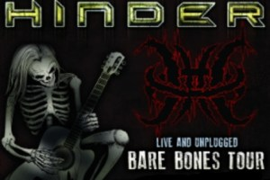 LIVE – HINDER – BARE BONES TOUR – Detroit, MI – November 9, 2012