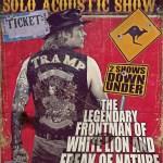 Mike Tramp Australian shows – February 2013