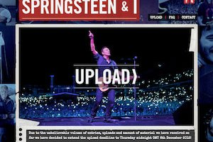 WHAT BRUCE MEANS TO YOU: 'SPRINGSTEEN & I'  FILM CALLS TO FANS FOR FILMED FOOTAGE