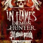 IN FLAMES Announces Additional Tour Dates for 2013 Headline Run with DEMON HUNTER, ALL SHALL PERISH, and BATTLECROSS