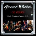 GREAT WHITE to celebrate the band's XXXth Anniversary with the release of a new live album out February 26TH on Frontiers Records