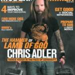 Modern Drummer Magazine Unleashes the March 2013 CHRIS ADLER Cover Issue on February 1st!
