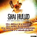 "SHAI HULUD confirm east coast US shows to celebrate the release of ""Reach Beyond the Sun""!"