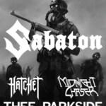 LIVE – Sabaton, San Francisco, CA, February 9, 2013