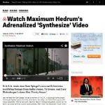 "Maximum Hedrum ""Synthesize"" Music Video Currently Premiering At Spin"