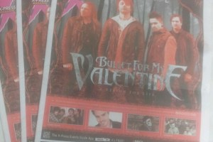 Interview – Michael 'Padge' Paget, Bullet For My Valentine – February 2013
