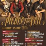 Woe Is Me and Hands Like Houses Supporting Woe Is Me on Pierce The Veil UK Tour in May and June; Bands Confirmed for 2013 Vans Warped Tour This Summer