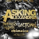Motionless In White announces tour plans with Asking Alexandria